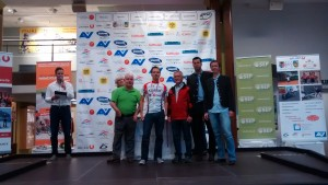 Platz 1 Paracycling Tour Bergsprint