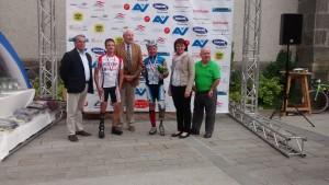 Dietmar Hintringer Platz 2 mit dem Gewinner Martin Falch (Tirol)