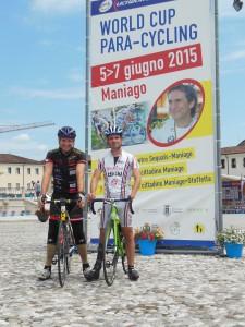 Erich Artner und Dietmar Hintringer Paracycling