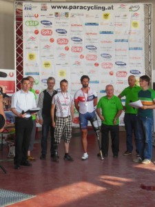 Dietmar Hintringer EZF Siegerehrung mit Hutter Martin (Vbg.) OESTM2016