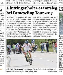 Bericht Rundschau 8. Juni 2017